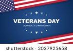 veterans day  november 11 ... | Shutterstock .eps vector #2037925658