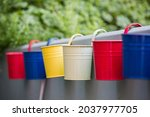 A Selective Of Colorful Buckets ...