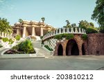 Park Guell Designed By Antoni...
