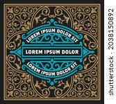 western card with vintage style   Shutterstock .eps vector #2038150892