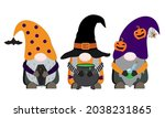 halloween vector illustration...   Shutterstock .eps vector #2038231865