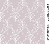 floral seamless pattern with...   Shutterstock .eps vector #2038376255