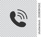 phone icon in trendy flat style ...