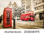 Fleet Street  Vintage Sepia...