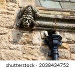 Close Up Of A Gargoyle On The...