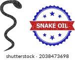 lowpoly snake polygonal icon... | Shutterstock .eps vector #2038473698