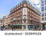 london  uk   june 2  2013  view ... | Shutterstock . vector #203849626