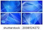 set of four football or soccer... | Shutterstock . vector #2038524272
