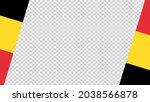waving flag of belgium  ... | Shutterstock .eps vector #2038566878