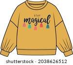 kids and girls sweat tops | Shutterstock .eps vector #2038626512