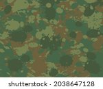 military camouflage background... | Shutterstock .eps vector #2038647128