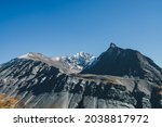 Scenic Alpine Landscape With...