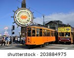 san francisco  california  usa  ... | Shutterstock . vector #203884975