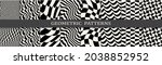 abstract weaves seamless... | Shutterstock .eps vector #2038852952