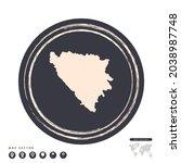 black grunge stamp circle... | Shutterstock .eps vector #2038987748