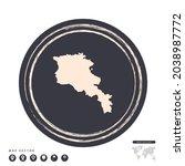 black grunge stamp circle... | Shutterstock .eps vector #2038987772