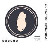 black grunge stamp circle... | Shutterstock .eps vector #2038987775