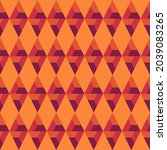 seamless pattern. ethnic... | Shutterstock .eps vector #2039083265