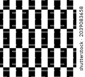 seamless pattern. geometrical... | Shutterstock .eps vector #2039083658