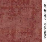 red damaged wall plaster... | Shutterstock .eps vector #2039085305