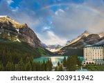Lake Louise  Alberta Canada An...