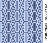 japanese sharp diamond chain...   Shutterstock .eps vector #2039195165