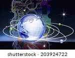 an image of network | Shutterstock . vector #203924722