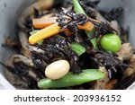a boiled side dish | Shutterstock . vector #203936152
