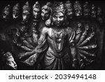 Buddhism religion sculptures. Original public domain image from Flickr