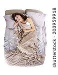 young adolescent female having...   Shutterstock . vector #203959918