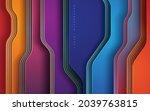 luxury dimension background... | Shutterstock .eps vector #2039763815