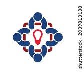 idea icon  creative vector ...   Shutterstock .eps vector #2039813138