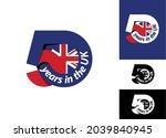 50 years in the uk.... | Shutterstock .eps vector #2039840945