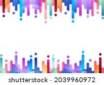abstract fluid or liquid...   Shutterstock .eps vector #2039960972