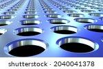 metallic background with...   Shutterstock . vector #2040041378