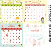 unusual calendar for 2015 with