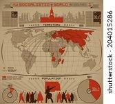 Socialistic World Infographics...