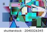 abstract vector wallpaper....   Shutterstock .eps vector #2040326345