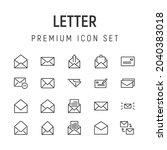 premium pack of letter line...