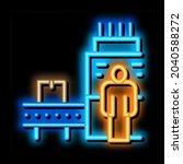 manufacturing machine operator... | Shutterstock .eps vector #2040588272