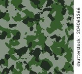 tundra seamless camo texture | Shutterstock . vector #204061366