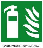 fire extinguisher symbol sign ...   Shutterstock .eps vector #2040618962