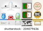 vector traveling and transport... | Shutterstock .eps vector #204079636