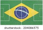 football field textured by...   Shutterstock . vector #204086575