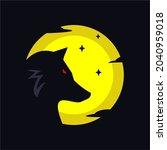 vector logo of a wolf... | Shutterstock .eps vector #2040959018