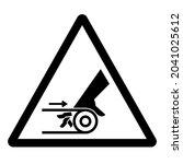 hand entanglement belt drive...   Shutterstock .eps vector #2041025612