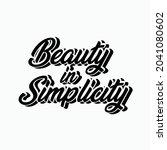 beauty simplicity typography... | Shutterstock .eps vector #2041080602