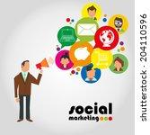 vector illustration of the... | Shutterstock .eps vector #204110596