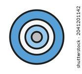 nazar amulet icon vector image. ...   Shutterstock .eps vector #2041201142