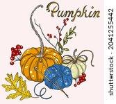 Autumn Illustration With...
